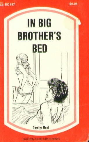 IN BIG BROTHER'S BED by Carolyn Hunt