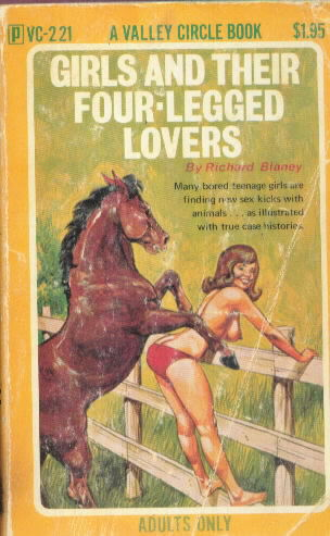 GIRLS AND THEIR FOUR-LEGGED LOVERS by Richard Blaney