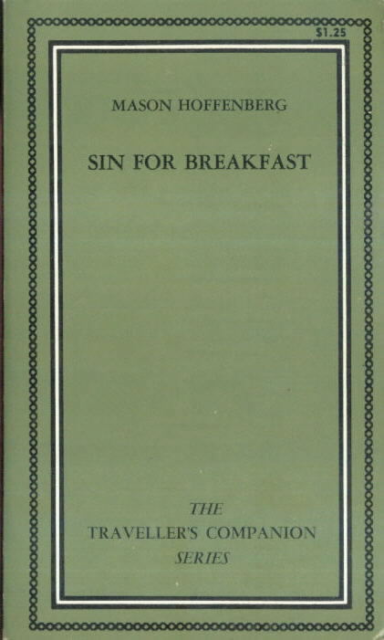 SIN FOR BREAKFAST, Mason Hoffenberg Beeline/Traveller's Companion Series TC-210 (1967)