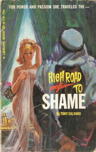 HIGH ROAD TO SHAME by Tony Calvano