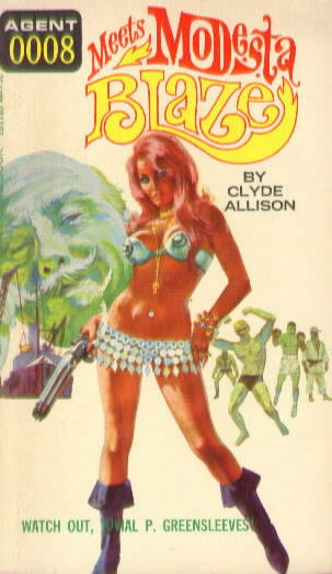 0008 MEETS MODESTA BLAZE by Clyde Allison( William Knoles)