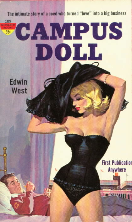 CAMPUS DOLL by Edwin West (aka Donald E. Westlake)