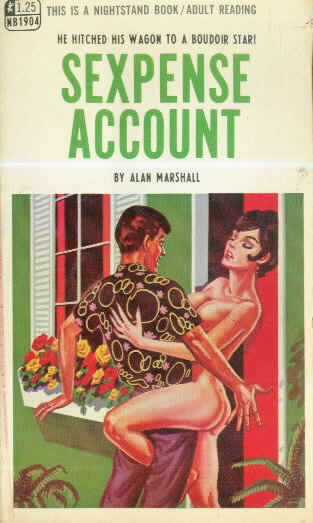 SEXPENSE ACCOUNT by Alan Marshall