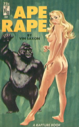 APE RAPE by Vin Saxon (Ron Haydock)
