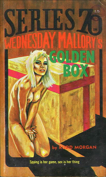 WEDNESDAY MALLORY'S GOLDEN BOX by Rudd Morgan