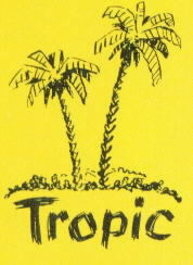 Tropic palmtrees logo